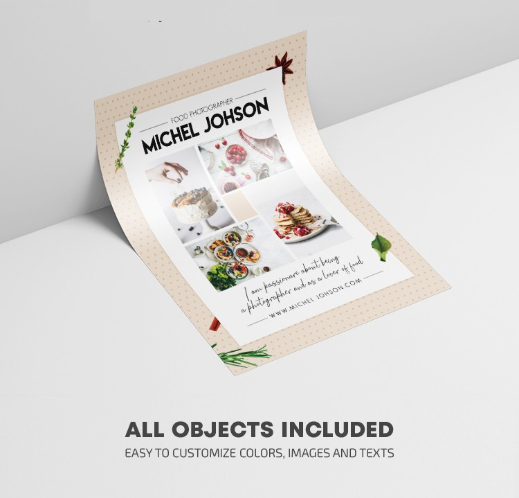 Foodie Promotion - Free PSD Flyer Template