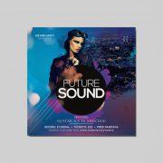 Future Club Sound Free PSD Flyer Template