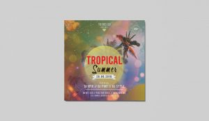 Summer and Tropical PSD Free Flyer Templates