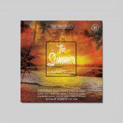 The Summer Sunset Free PSD Flyer Template