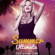 Ultimate Summer Events Free Flyer Template