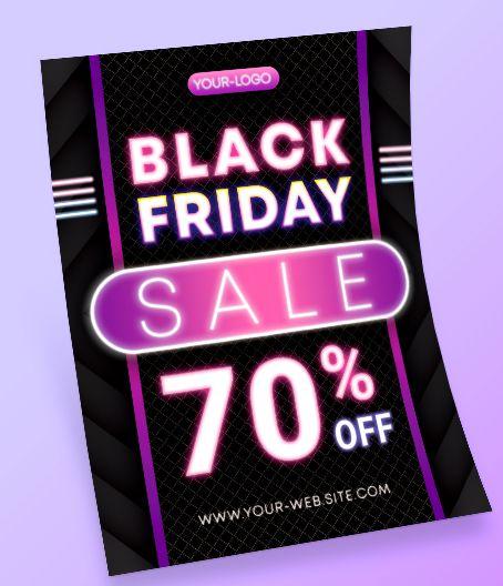 Black Friday Free Flyer PSD