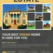 Estate Company Free Flyer Template