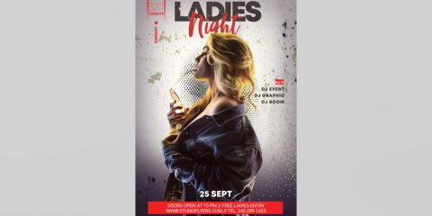 Event for Ladies Free PSD Flyer Template