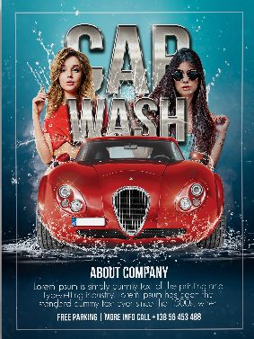 Free Car Wash Flyer Template
