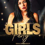 Free Elegant Girls Event PSD Flyer