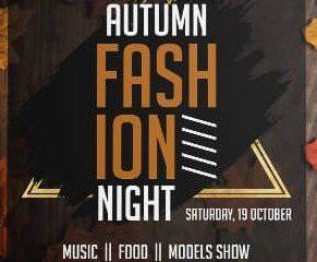 Free Fashion Autumn Flyer Template