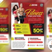 Free Gym Flyer Template