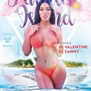 Free Island Party Flyer Template