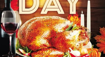 Free Thanksgiving Day PSD Flyer Template