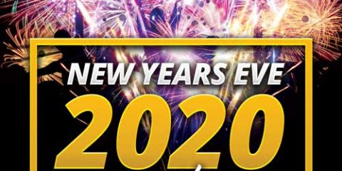 Happy New Year 2020 Free Flyer Template
