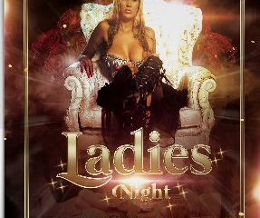 Ladies Party Event Free PSD Flyer Template