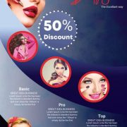 Makeup Salon Flyer Template