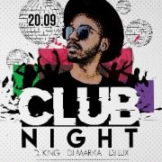 Nighty Club Party – Free PSD Flyer Template