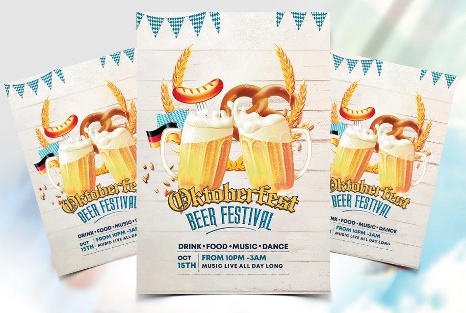 Oktoberfest 2019 Free Flyer Template