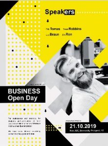 Open for Business Day – Free Flyer Template