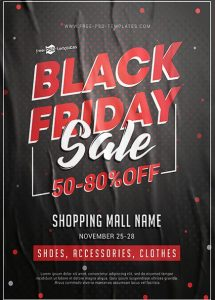 Sale for Black Friday Flyer Template for Free