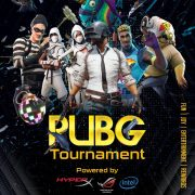 The PUBG Play Tournament Free PSD Flyer Template