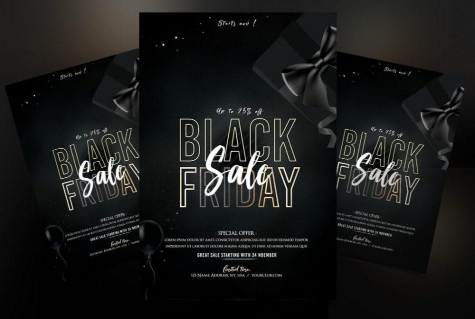 Free Black Friday Flyer