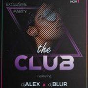 Free Club Event PSD Template
