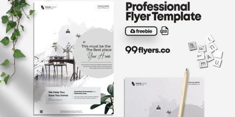 Real Estate Promotion Free PSD Flyer