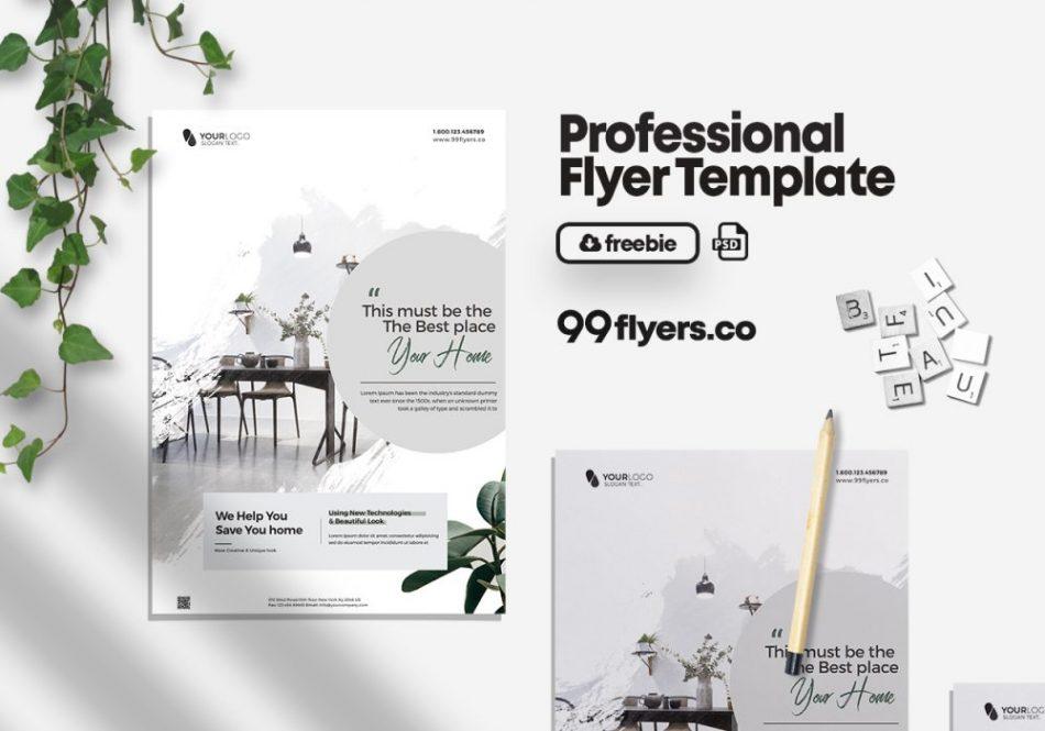 Real Estate Promotion Free PSD Flyer