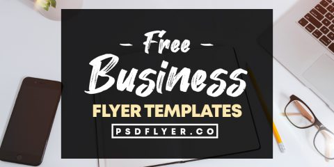 Best Collection of Business Free PSD Flyer Templates