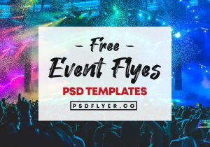 Best Free PSD Flyers for Party & Events