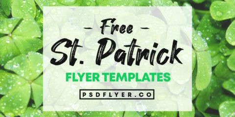 Best Free ST. Patricks Day PSD Flyers Templates