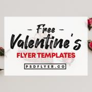 Best Free Valentine's Day PSD Flyers