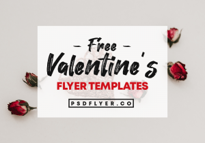 Best Free Valentine's Day PSD Flyers