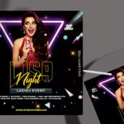 Club & Party - Free PSD Flyer Template