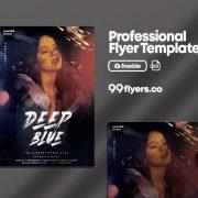 DJ House Party Freebie PSD Flyer Template
