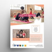 Fitness Health Free PSD Flyer Template
