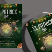 Happy St.Patrick's Free PSD Flyer Template