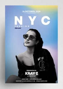 NYC Fashion Freebie PSD Flyer Template