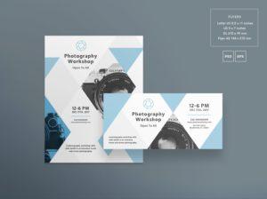 Photography Workshop Free PSD Flyer