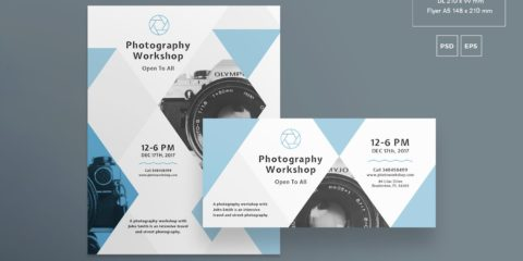Photography Workshop Free PSD Flyer
