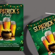 Saint Patrick`s Day Free PSD Flyer Template
