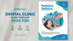 Dental Clinic & Medical PSD Free Flyer Template
