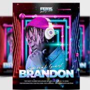 Free DJ Guest Flyer