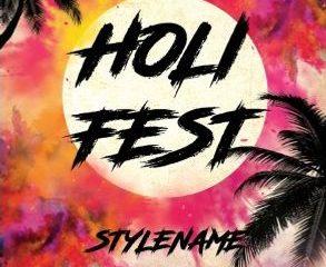 Free Holi Fest PSD Flyer Template