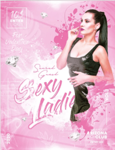 Free Sexy Ladies PSD Flyer Template
