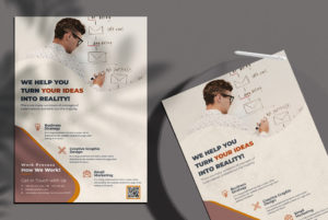 Marketing & Agency Brand Free PSD Flyer