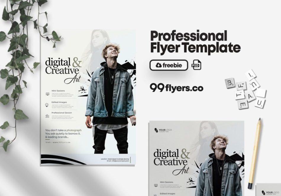 Photography Contest Free PSD Flyer Template