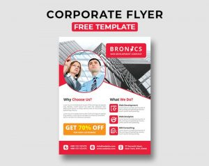 Corporate  Free PSD Flyer Template Vol.1