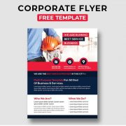 Corporate Free PSD Flyer Template Vol.6