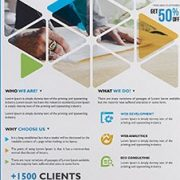 Corporate Free PSD Flyer Template Vol.8