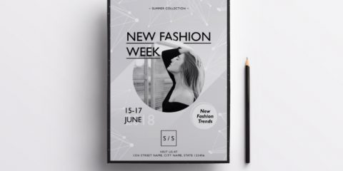 Fashion Week – Free PSD Flyer Template