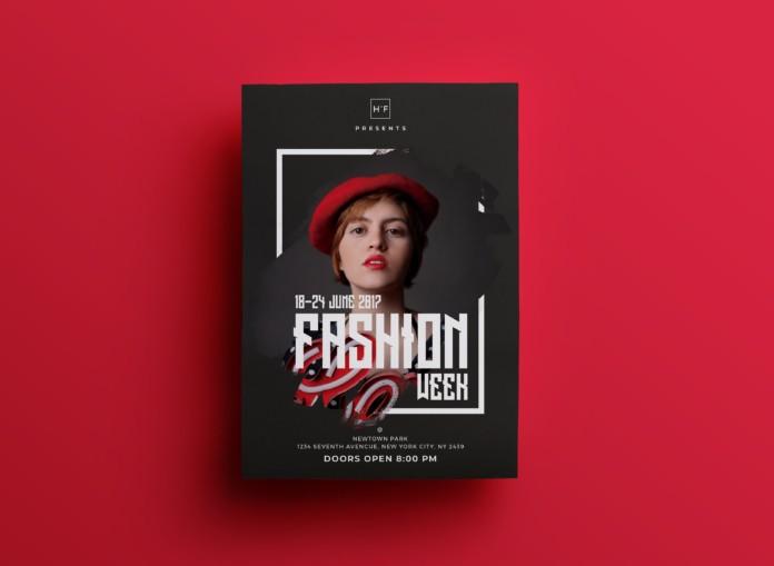 Fashion Week – Free PSD Flyer Template Vol.2